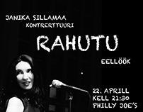 Janika Sillamaa Concert Tour Poster Campaign