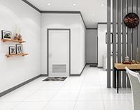 Interior Design (Dining/Kitchen Area)