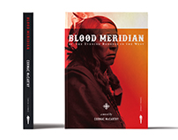 "Cormac McCarthy's ""Blood Meridian"" Book Cover Design"