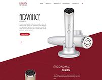 Gravity Web UI Design