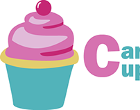 Caryn's Cupcakes Logo Design & Business Cards