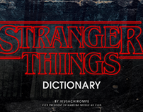 Stranger Things Dictionary