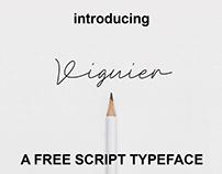 Viguier Signature - Free Font