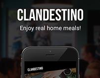 Clandestino - UI & Ux Design