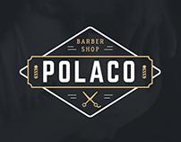 Logo Polaco barber shop