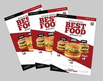 Professional Flyer Design Burger Flyer