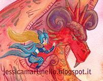 Miss Biker's dragon