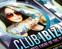 Club Ibiza Flyer Template