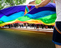 Gay Pride Parade, 4th June, Toulouse SW France