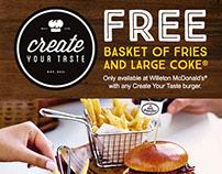 McDonald's Create Your Taste eDM