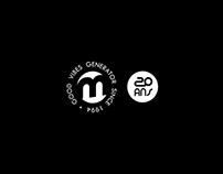 Logo, affiche, webdesign et textile ▶ La Marquise, Lyon