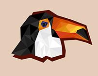 Low poly Birds