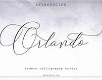 Orlando Modern Calligraphy Script