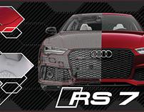 Audi exclusive: Rubino Red RS 7 Memorabilia Panoramic