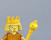 LEGO King of Ooo minifig