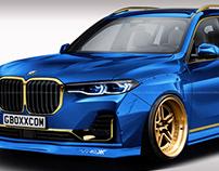 2019 BMW X7 Stance