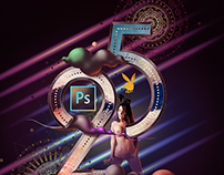 25 Years of Photoshop (for Playboy magazine)