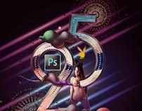 25 Years of Photoshop (for Playboy magazine)