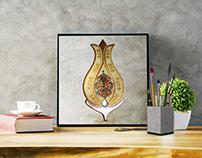 illustration, graphic design, Turkish crafts, ceramic