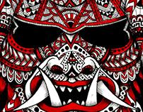 Polinesian Samurai Mask II