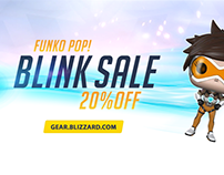 Overwatch - Funko Pop! Blink Sale Ad