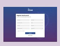 ColabIt Register UI Design