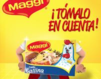 Caldo de Gallina Maggi - Regala vasos