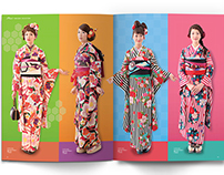 Kimono Fashion Collection Editorial Design