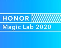Honor magic lab 2020 branding