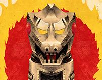 Godzilla vs MechaGodzilla (1974) Movie Poster