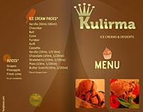 Resturant menu Card