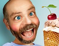 Lick It Ice Cream - Photo retouching
