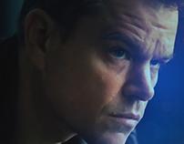 Jason bourne Movie Landing Page