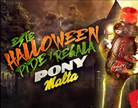 HALLOWEEN 2015 / PONY MALTA