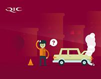 Qatar Insurance Illustration