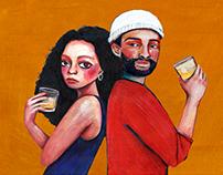 MOTOWN | 酒標插畫