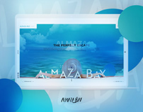 Almaza Bay Website Redesign