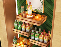 Tanqueray Gondol&Stand