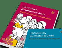 Diseño editorial para colección CATEQUISTAS