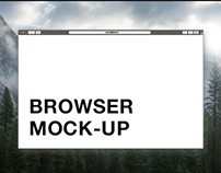 Vector Browser Mock Up