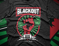 Blackout Tee Design