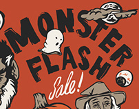 Monster Flash Sale Graphics