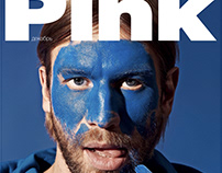 Cover story for Pink Magazine with Ivan Dorn