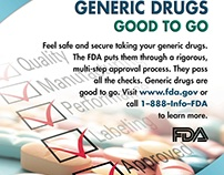 FDA Print Ad - Generic Drugs