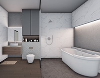 Residential Interior Bathroom