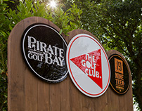 The Golf Club at St Pierre Park Branding