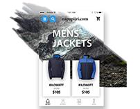 Online store Mobile App UI/UX Design