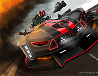 Cyborg Mustang