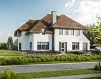 Thatch villa | CGI