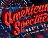 Event marketing design - dance recital theme